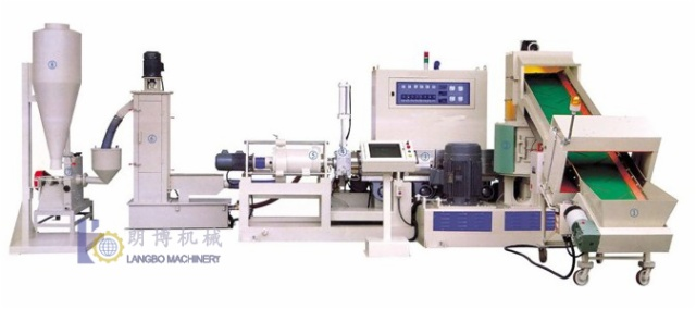 PP/PE PELLETIZING EXTRUSION LINE